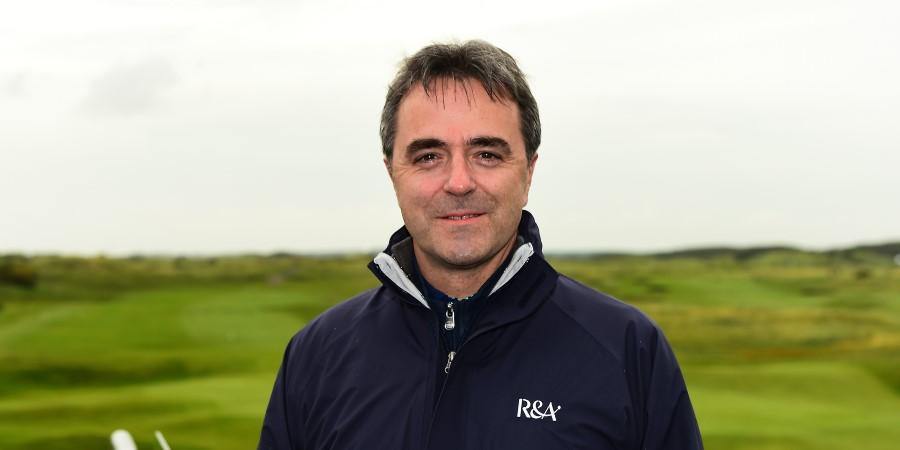 Phil Anderton reveals golf participation levels