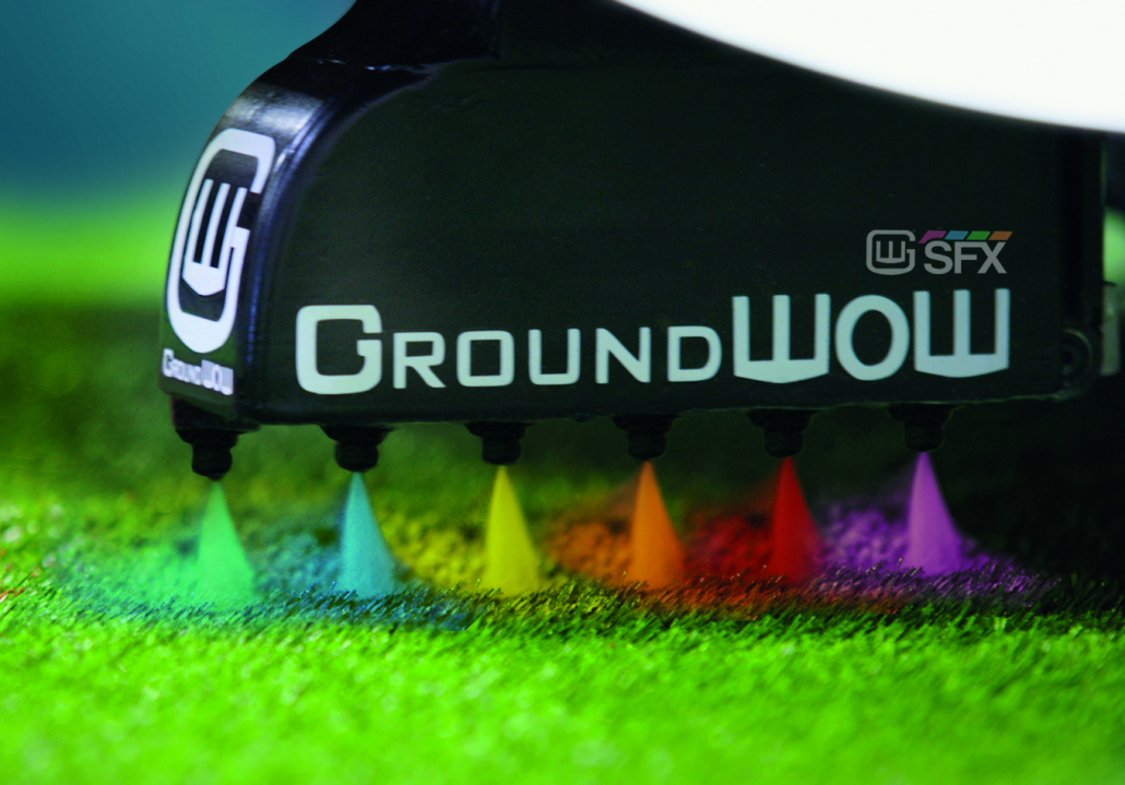 Complete stadium branding solution