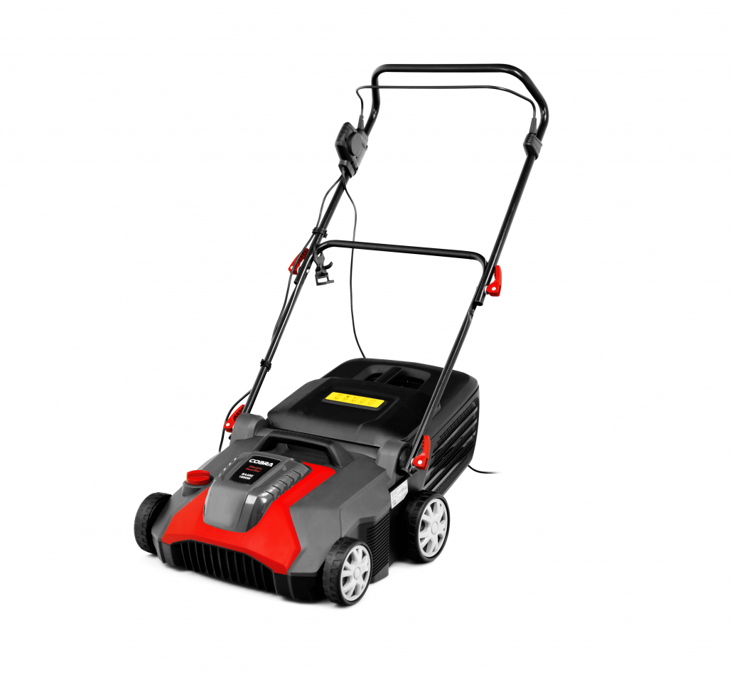 Scarify and aerate with Cobra