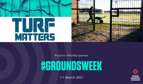 Turf Matters support #GroundsWeek