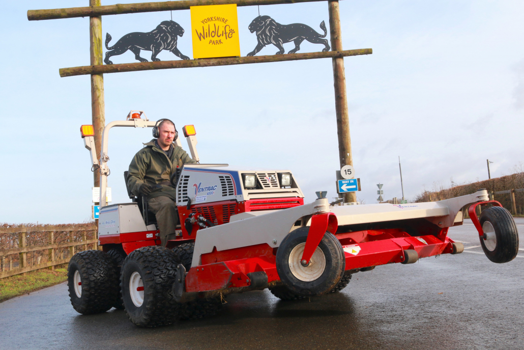 Yorkshire Wildlife Park invest in Ventrac