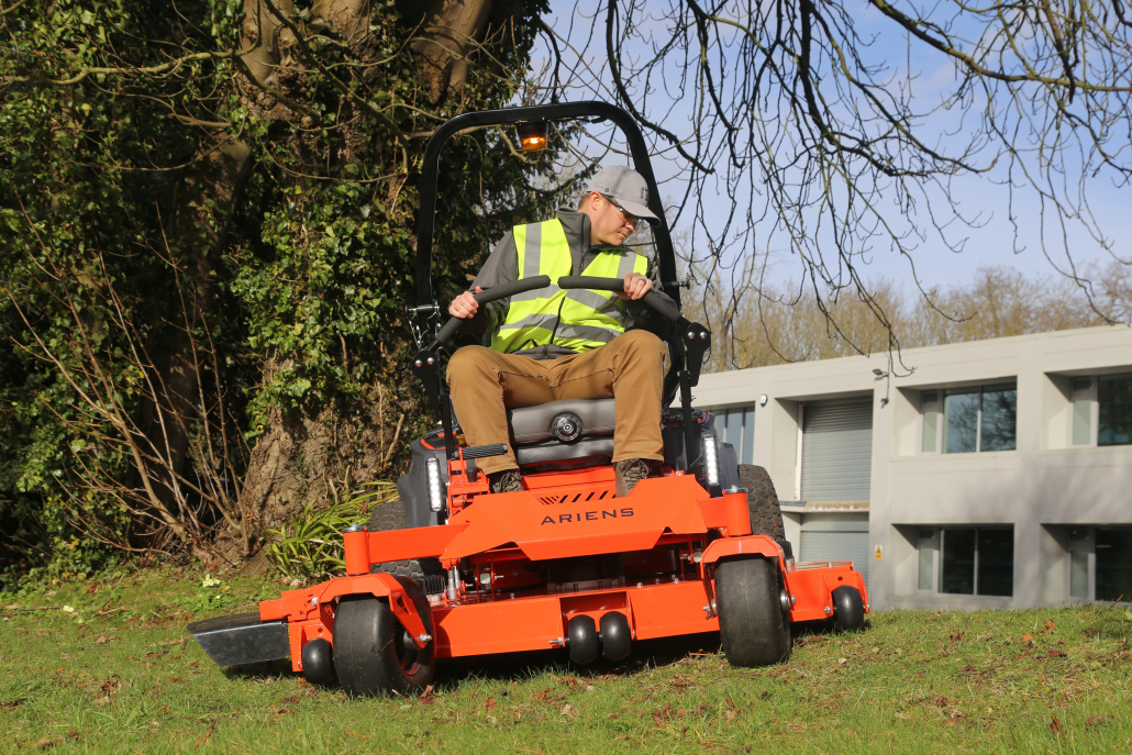 Electric performance from Ariens Zenith E