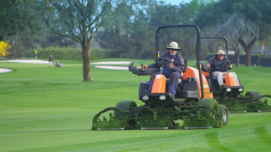 Jacobsen mowers integral to Bay Hill
