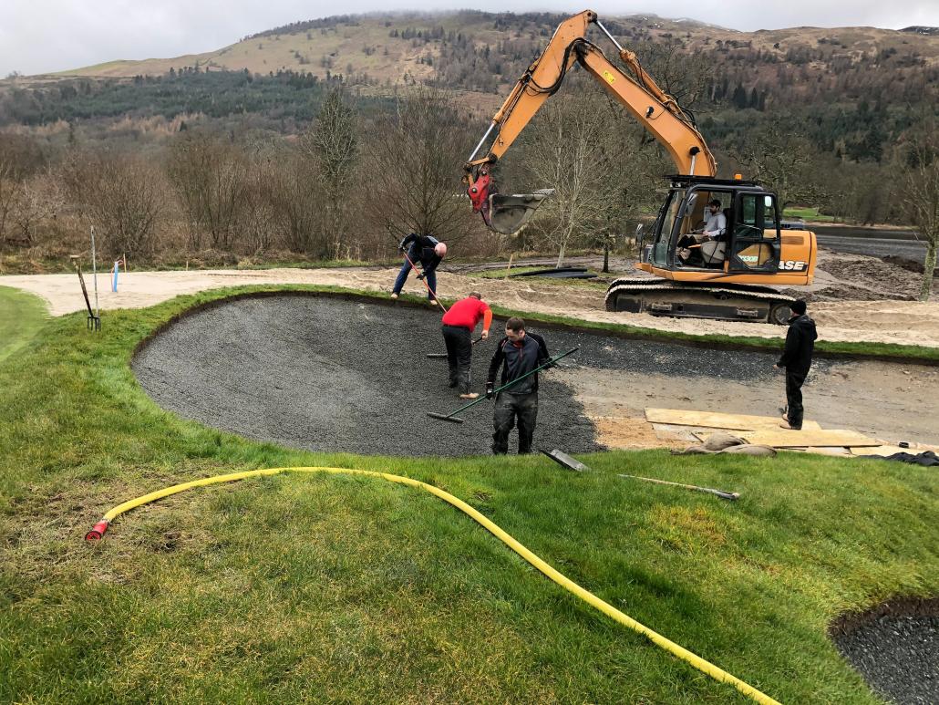 Capillary Concrete solving bunker problems