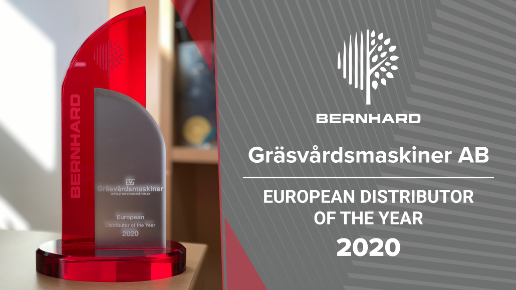 Bernhard announces distributor award winner