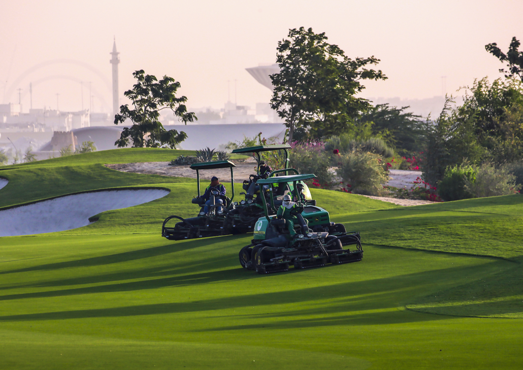 John Deere supports the ECGC Masters