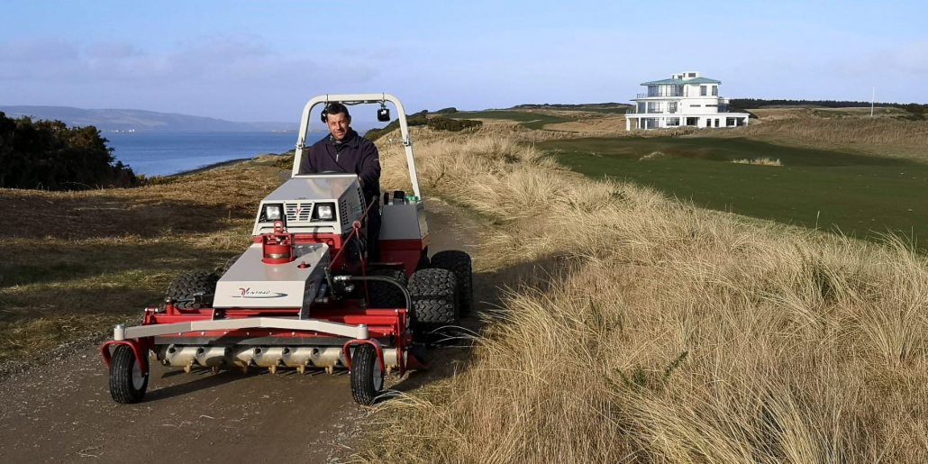 Castle Stuart purchase a Ventrac