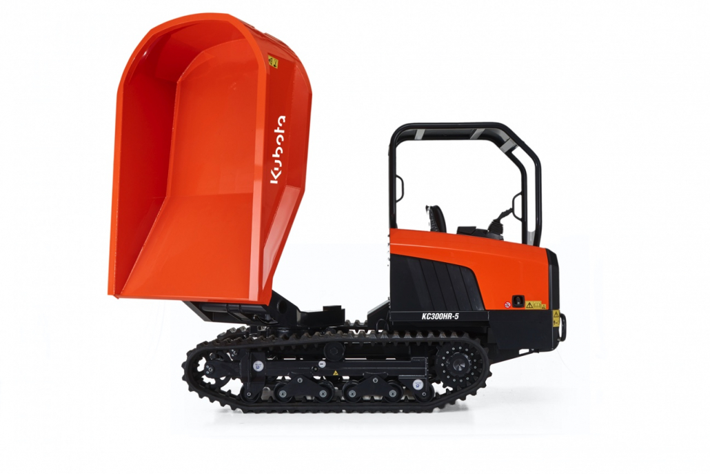 Kubota launches new V tracked dump truck