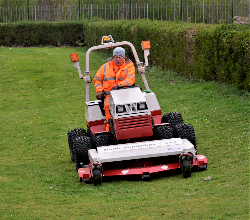 Council delivering with Ventrac