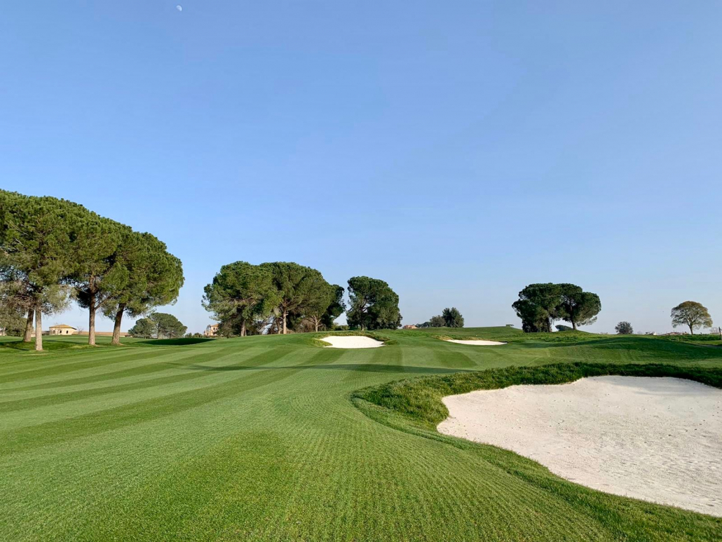 Bunkers ensure success at Marco Simone course