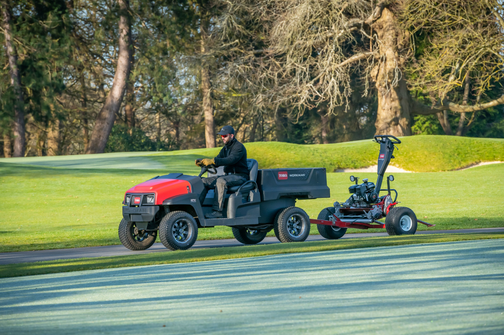 Club continues to invest in technology from Toro
