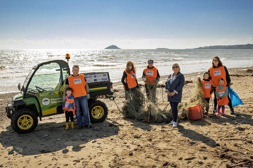 Gator helps keep the coast clean