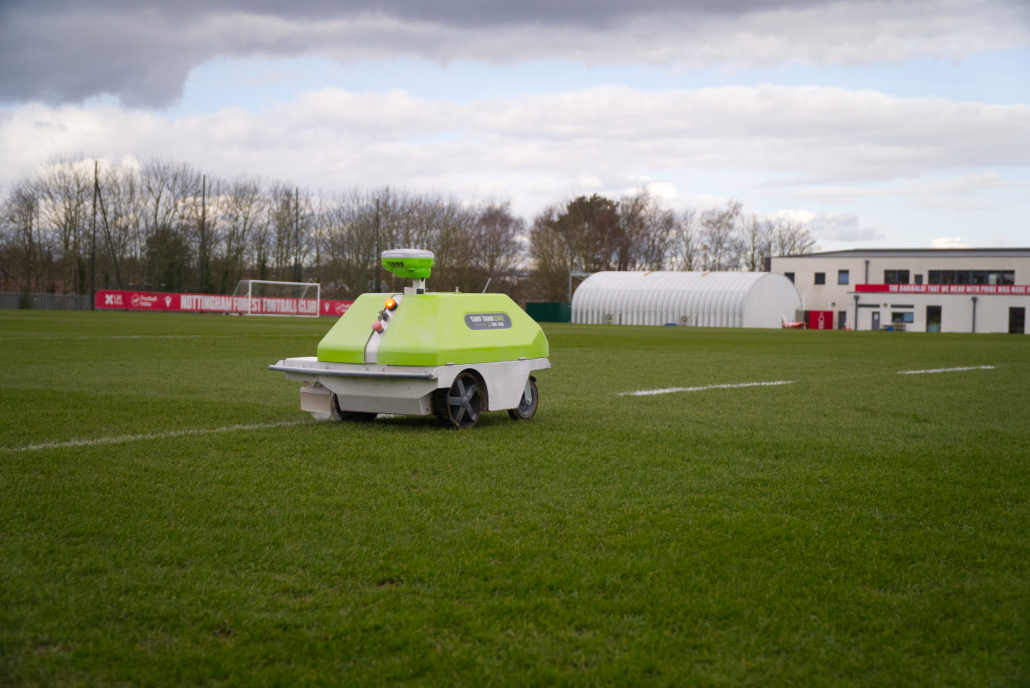 Turf Tank makes its mark at Nottingham Forest
