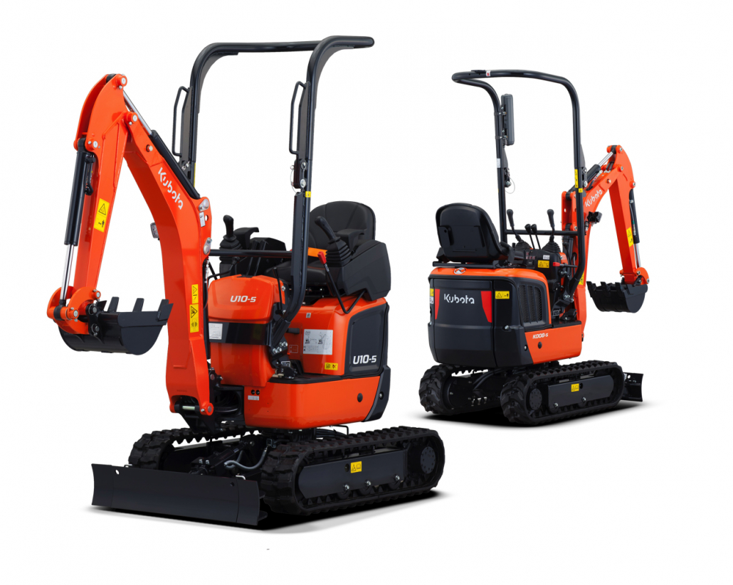 Kubota launch new micro excavators