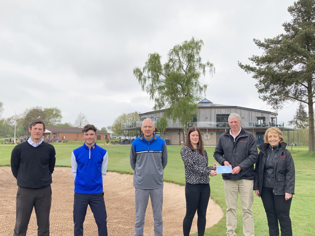 Mansfield Sand supports golfing health project