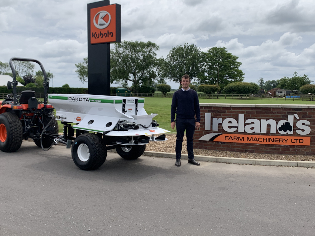 Campey welcomes Irelands Groundcare