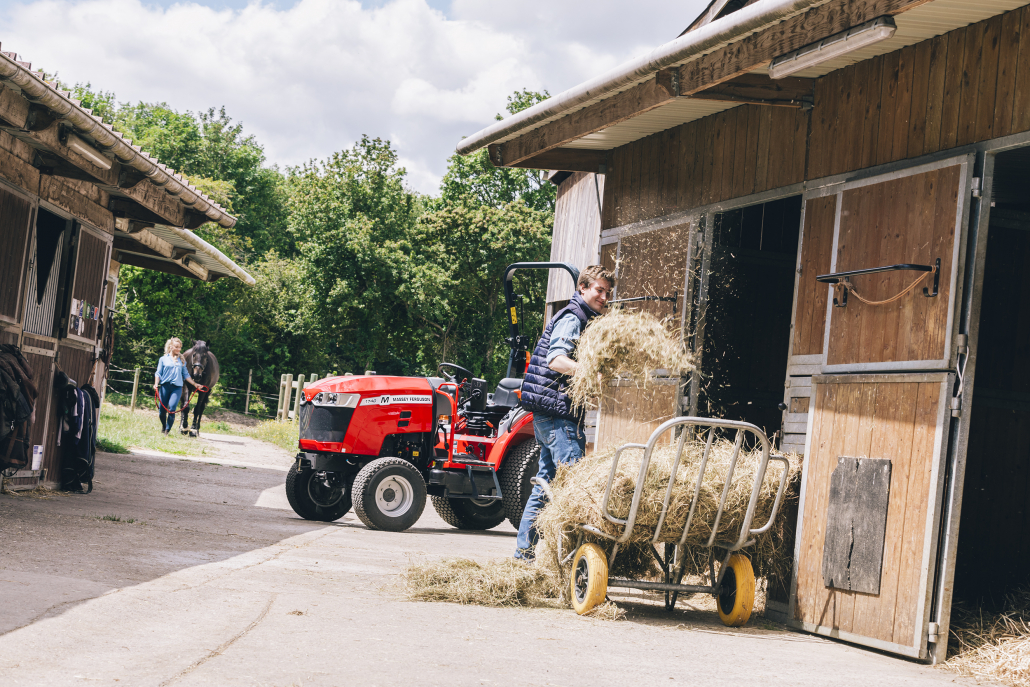 A compact tractor with a big heart