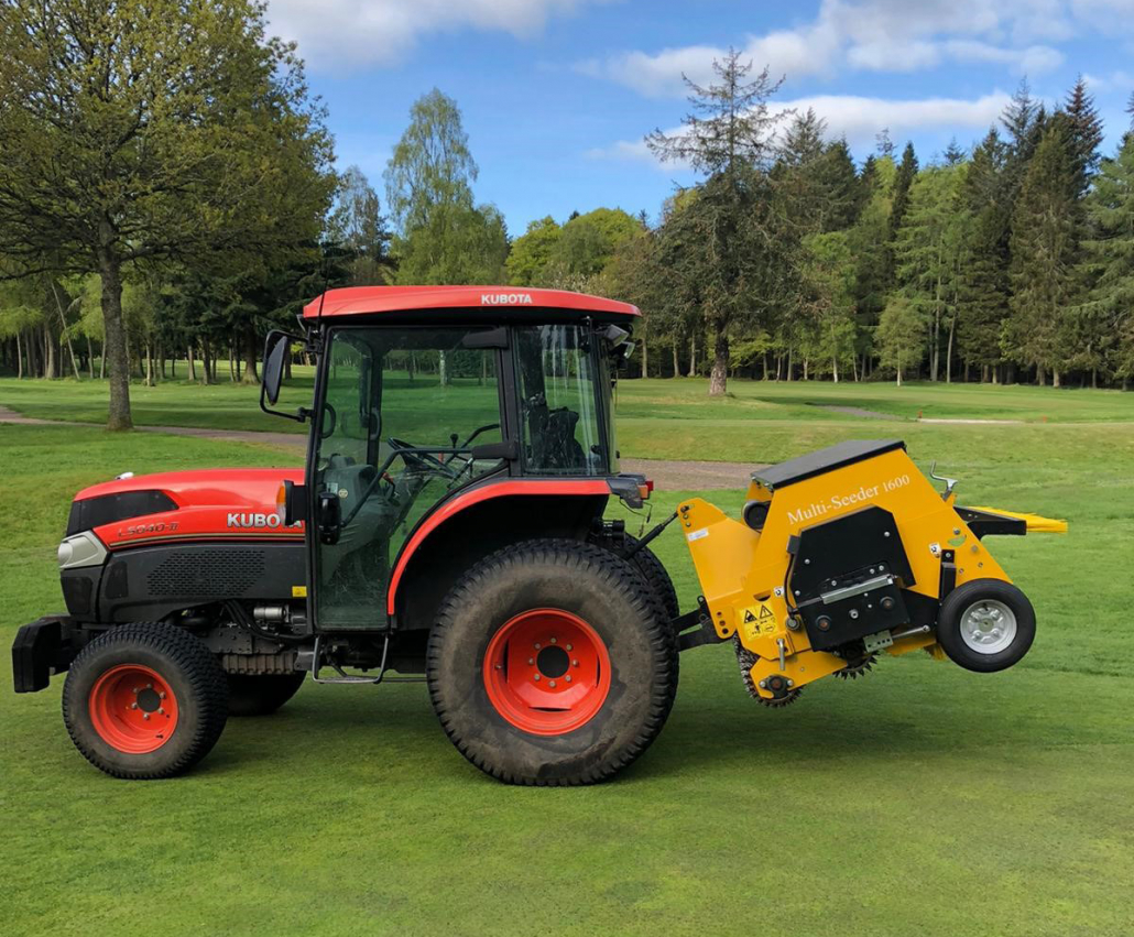 Multi-Seeder 'pivotal' at Downfield GC