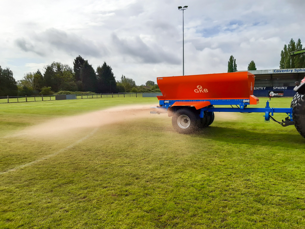 GKB bring the Sandspreader 400 to Coventry