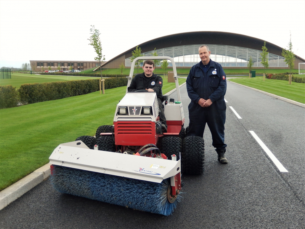 Ventrac package for Leicester training centre