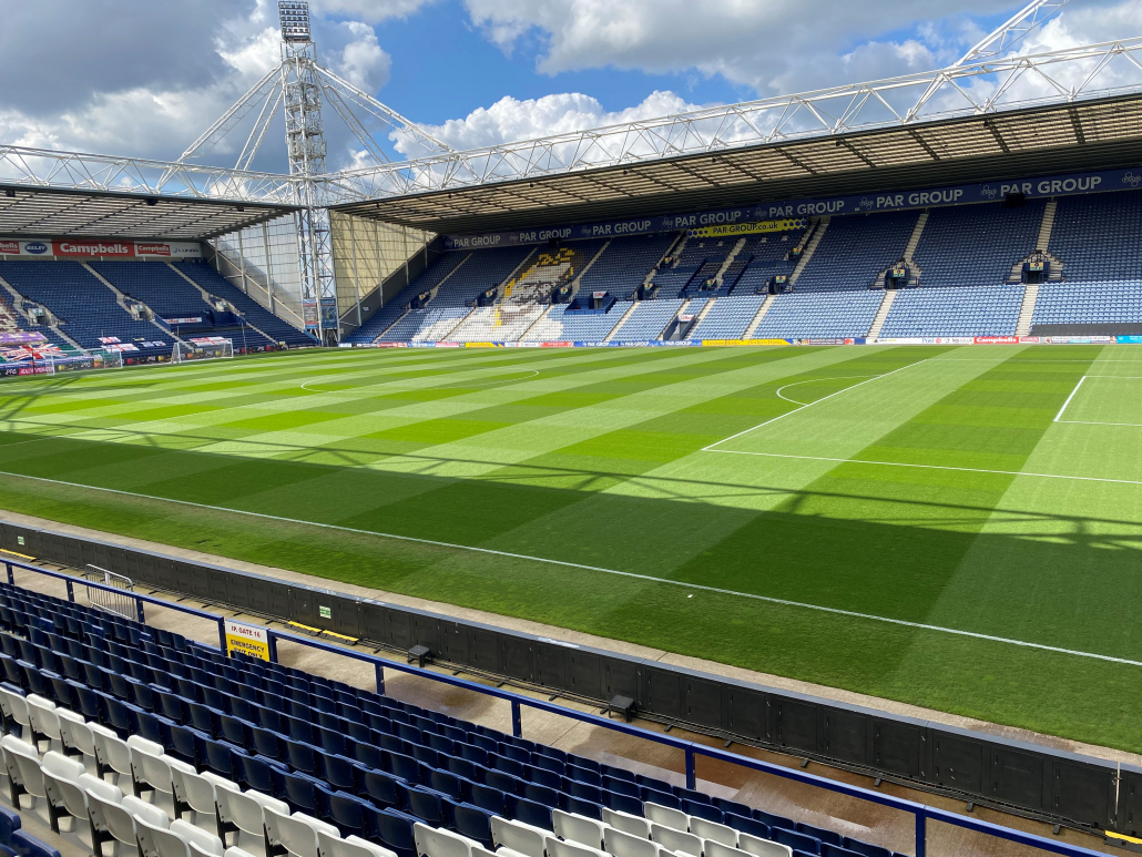 PNE's pitches boosted by Mansfield Sand