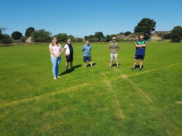 Youth football pitches wrecked