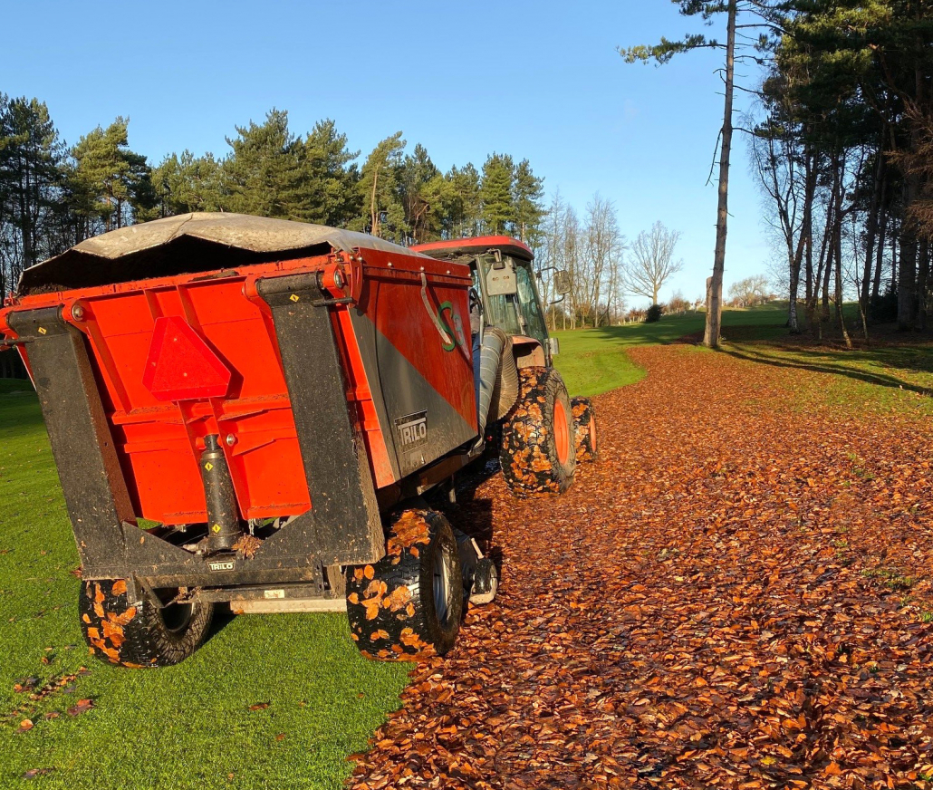 Trilo S3 takes command of leaf clearance