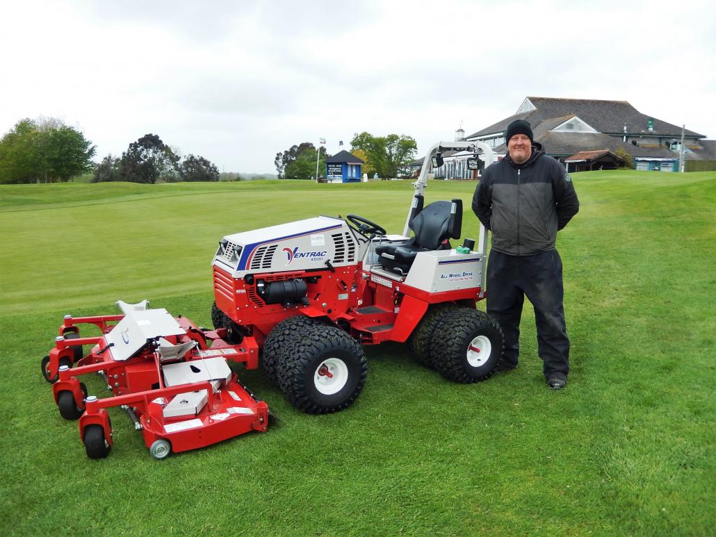 Ventrac for Dudsbury Golf Club