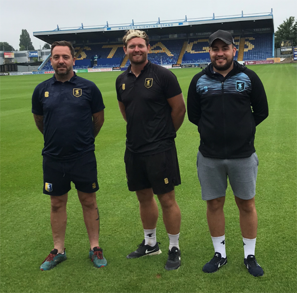 A Mezmerising pitch thanks to Mansfield Sand