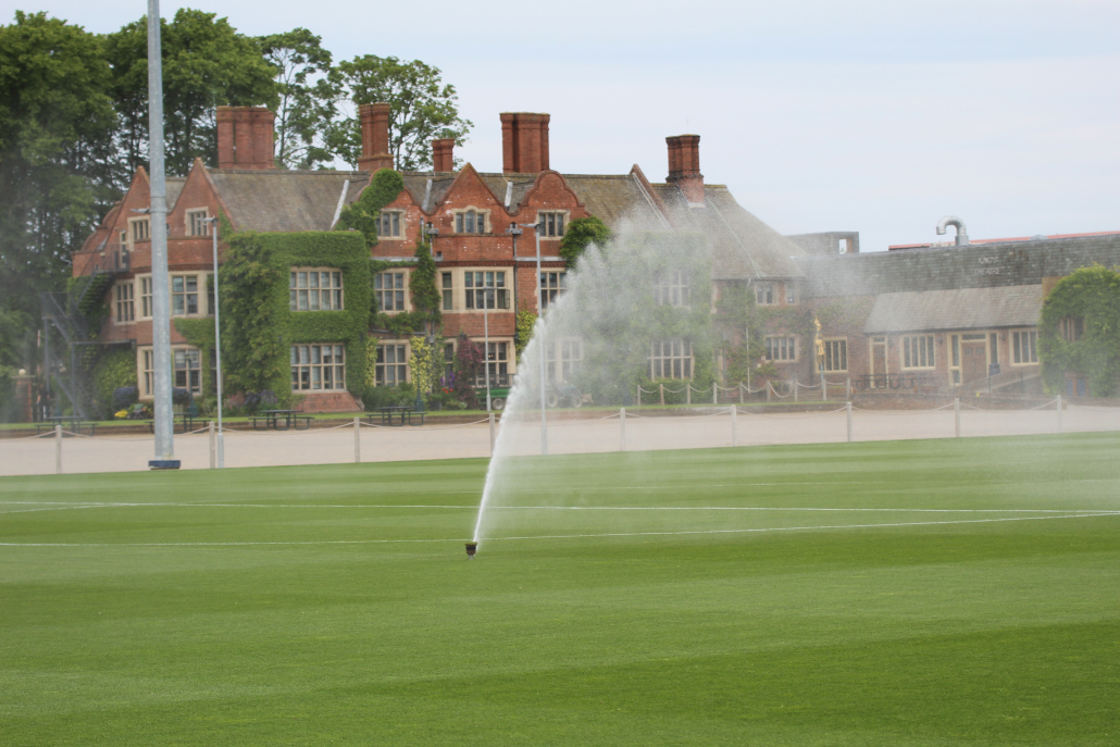 The school with its own sports village