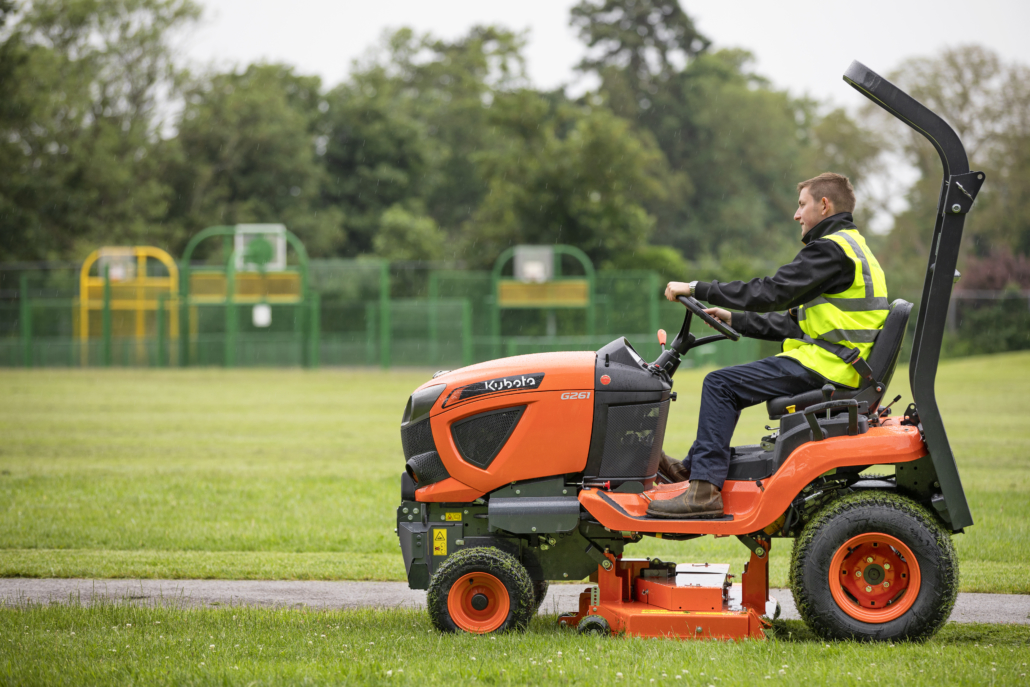 Kubota adds rear discharge model to G-Series