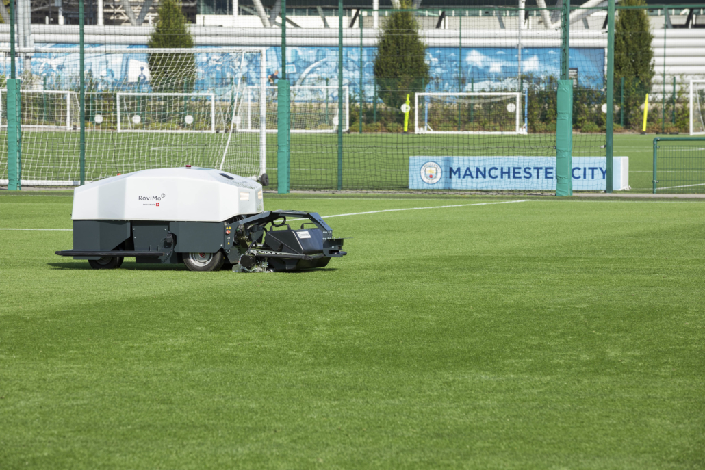 Unveiling of RoviMo at Manchester City