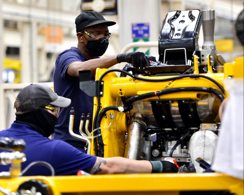 New welding jobs at JCB