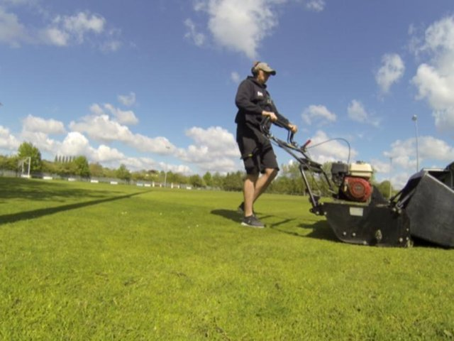 Mowing a million to fund raise