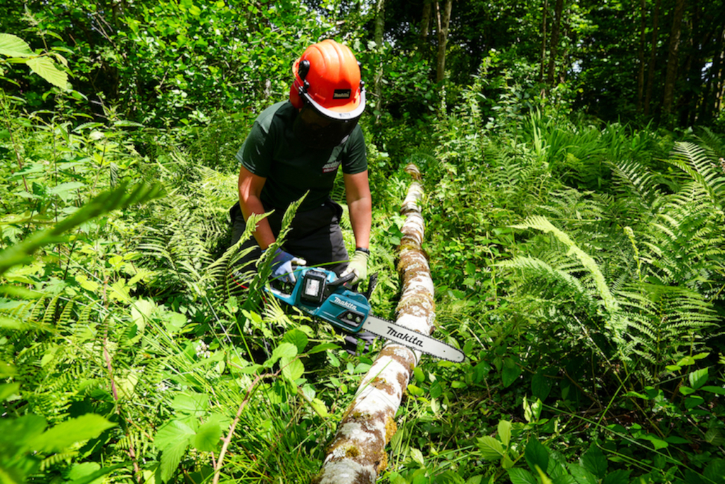 Makita tools power the Eden Project