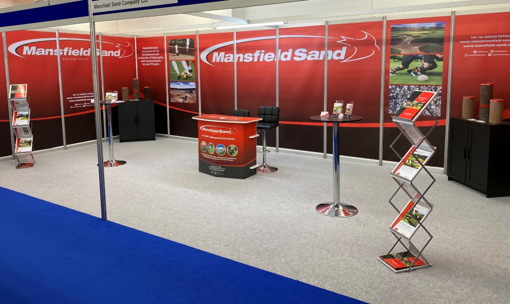 Mansfield Sand back at SALTEX