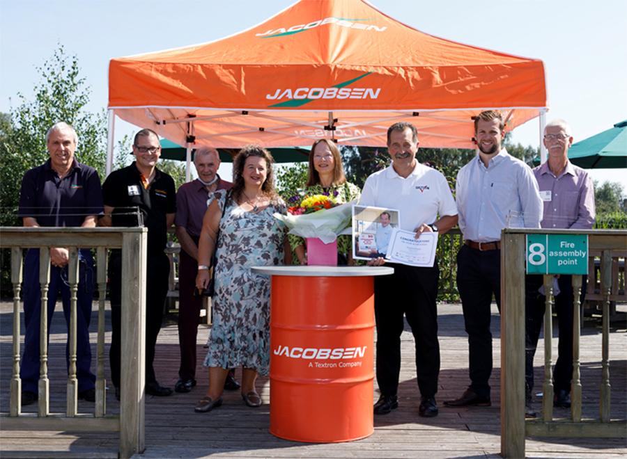Jacobsen celebrates Dmytro Klipalo's 50 years